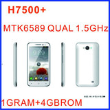 H7500+ (7100 note 2) smartphone mtk6589 4GROM 1GRAM android 4.1 GPS WIFI 5.0 Inch OLED 1280X720 Screen android phone