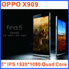 """OPPO X909 Find 5 Mobile SmartPhone 5"""" IPS 1920*1080 Quad Core Android 4.1 2GB RAM 16G/32G ROM WCDMA"""