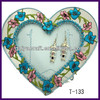 Hot Selling! Heart shape Metal handmade jewelry holder