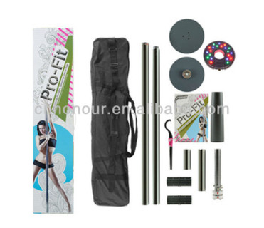 50mm Professional Portable Spinning Dance Pole