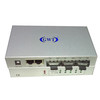 10/100M fiber media converter with 2 RJ45 ports and 3 SC fiber ports