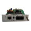 10/100/1000M card-type single mode dual fiber media converter