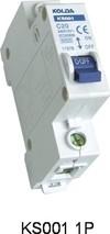 KS001 Type Mini Circuit Breaker/Mcb/Circuit Breakers