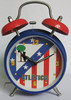 Quartz Clock,Small Table Clock,Metal Bell Bell Hit,
