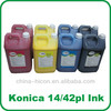Solvent ink for konica