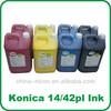 14pl solvent printer ink for konica