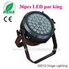 10w RGBW 4 in 1 led Par light, waterproof led par light