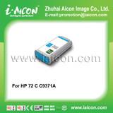 For HP Designjet T1100 Remanufactured cartridge 72 Cyan C9371A