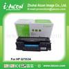 Black toner for HP Q7553A 53A in HP Laserjet 2015 toner cartridge