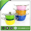 Xingzhan 201 Stainless Steel 10-piece Covered Pots Cookware Set