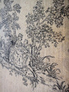 Linen Cotton Mixed Fabric for Upholstery Use