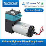 TOPSFLO 12V 24V DC Brush motor diaphragm liquid pump disinfection machine pump