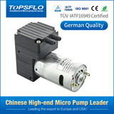 Brushed dc motor high pressure paper coffee pod machine air pump