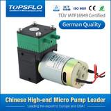 Topsflo TM30A-B low noise brush moto air mini vacuum pump