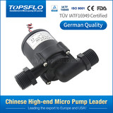 High temperature slient micro electrical dc brushless recirculation coolant water pump
