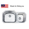3218A  CUPC Made In Malaysia kitchen stainless steel sink