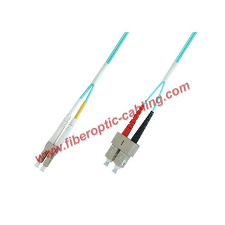 LC to SC duplex patch cord