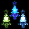LED X'tree decoration ornament Christmas window suction light