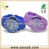 Hot Selling Wood Watch Silicone Wrist Watch, Quartz Watch