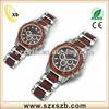 high quality Japan quartz movement waterproof wooden watch