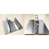 gap linear drainage channel with stainless steel grating