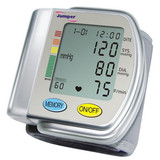 Blood Pressure Monitor CE marked memory with pressure, pulse rate, date and time
