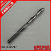 3.175*17mm Ball Nose Tools/ CNC End Mill Ball Nose Acrylic Engraving Milling Cutter/CNC Blade
