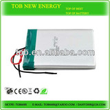 7.4V 5000mAh Ultra-low temperature hardcase Lithium Polymer Battery Pack for RC Car with 30C Continuous Discharge Current