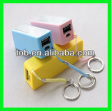 2600mah manual for power bank with perfume and key chain