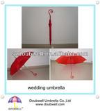 lady umbrella and wedding umbrella