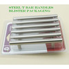 Steel T bar furniture handle with blister package