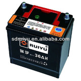 12V car and auto battery for car from 36ah to 200ah