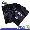 For custom printed laminated plastic non woven foil zipper bags wholesale
