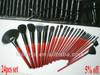 24pcs Synthetic Makeup Brushes Set Professional Cosmetic Brushes Set Beauty Brushes Set with fashionable Makeup Bag