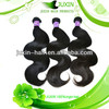 Juxin hair AAAAA quality 100% virgin brazilian hair with cheap price no shedding no tangle can be dyed hair styling