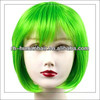Fantastic effect New product cosplay green wig christmas cosplay wig