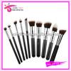 10 pcs High Quality Synthetic Makeup Brush Kit/Set
