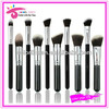 10 pcs Synthetic Makeup Brush Sets