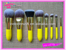8pcs synthetic kabuki kit for professionals