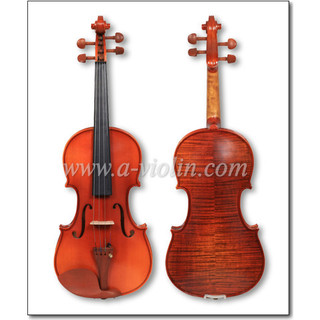 Printed Flame Acoustic Student Violin Outfit For Beginners (VG200)