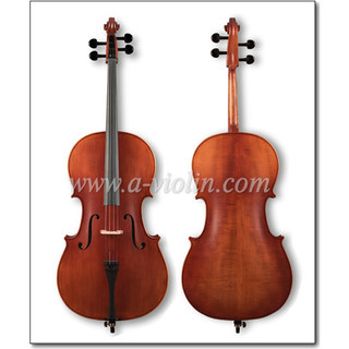 Top Sale Middle Grade Solid Straight Grain Spruce Top Cello with Bag (CM130)
