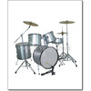 5pcs Drum Set Including Cymbal (DSET-220)