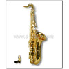 Gold Lacquer Bb Key Student Tenor Saxophone (SP0011G)