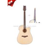 """New 41"""" Carbon bar inside Neck Acoustic Guitar(AF485CE)"""