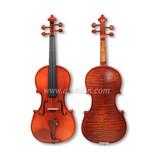 Dyed hardwood fingboard purfled violin (VG200)