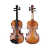 Wholesale Middle Grade Flame Back Metal violin(VM100)