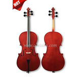 Hand Carved Ebony Parts Solidwood Student Cello (CG103)