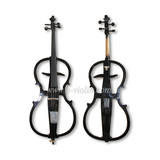 4/4 Hand Carved Solidwood Electric Cello (CE008B)