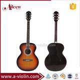 custom 40 inch linden plywood acoustic guitar(AF148)