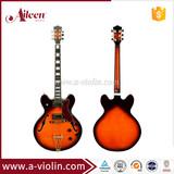 Double Cutaway All Solid F Hole Hollow Body Electric Jazz Guitar (EGJ280)